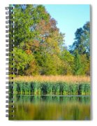 Soothing Reflections Spiral Notebook