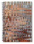 Sophisticated - Abstract Art Spiral Notebook