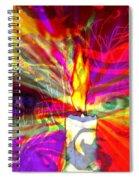 Sorcerer's Candle Spiral Notebook