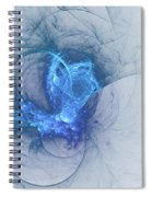 Sorching Blue Heaven Spiral Notebook