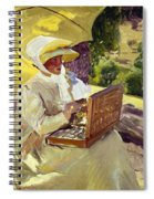 Sorolla: Painter, 1907 Spiral Notebook