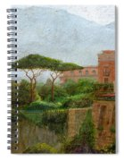 Sorrento Albergo Spiral Notebook