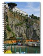 Sorrento Beach Spiral Notebook