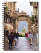 Sorrento Beauty Spiral Notebook