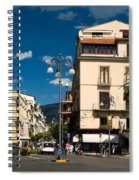 Sorrento Italy Piazza Spiral Notebook