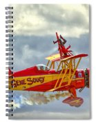 Soucy In Flight Spiral Notebook