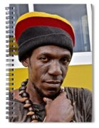 Just A Soul Brother Spiral Notebook