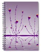 Soul Flowers Spiral Notebook