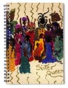 Soulful Sistahs Spiral Notebook