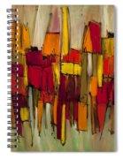 Sound And Fury Three Spiral Notebook
