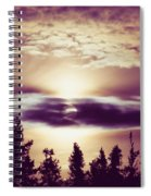 Sound Of The Sun Spiral Notebook