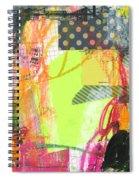 Sound Waves Spiral Notebook