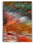 Sounds Of Thunder Abstract Spiral Notebook