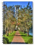 Sounds Of Victory The Bell Tower Furman University Greenville South Carolina Art Spiral Notebook