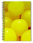 Sour Lemon Candies Spiral Notebook