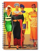 South African Beauties Spiral Notebook