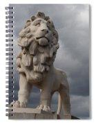 South Bank Lion.  Spiral Notebook