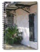 South Battery Sidewalk Spiral Notebook