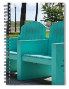 South Beach Bench Spiral Notebook