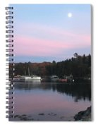 South Bristol Sunset Spiral Notebook
