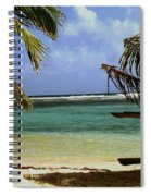 South Caye Belize Spiral Notebook