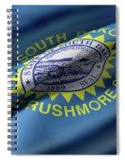 South Dakota State Flag Spiral Notebook