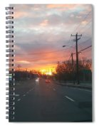 South End Sun Rise Spiral Notebook