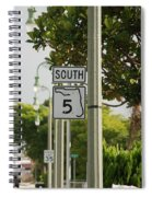 South  Florida 5 Spiral Notebook