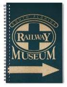 South Florida Railway Museum Spiral Notebook