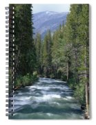 South Fork San Joaquin River - Kings Canyon National Park Spiral Notebook