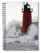 South Haven Lighthouse 3 Spiral Notebook