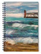 South Haven Lighthouse Spiral Notebook