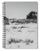 South Hessary Tor In The Snow Spiral Notebook