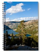 South Lake From Above Spiral Notebook