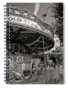 South London Carousel Spiral Notebook