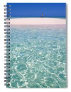 South Pacific Sandbar Spiral Notebook