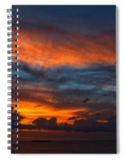 South Pacific Sunset Spiral Notebook