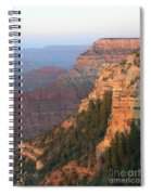 South Rim Sunset Spiral Notebook