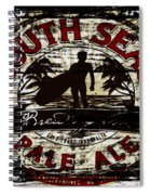 South Seas Pale Ale Sign Spiral Notebook