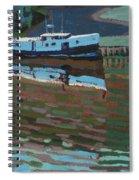 Southampton And Scubbys Bluff Fishing Fleet Spiral Notebook