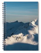 Southern Alps Spiral Notebook