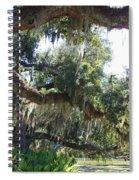 Southern Backyard Spiral Notebook