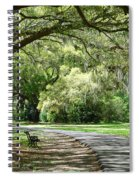 Southern Bench Spiral Notebook