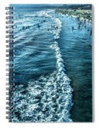 Southern California Beach Spiral Notebook