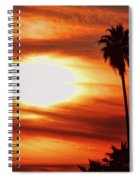 Southern California Sunset Spiral Notebook