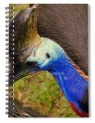 Southern Cassowary Spiral Notebook