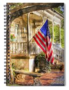 Southern Charm Spiral Notebook