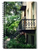 Southern Charm In Savannah  Spiral Notebook