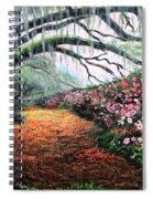 Southern Charm Oak And Azalea Spiral Notebook