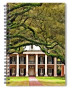 Southern Class Painted Spiral Notebook
